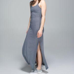 NWOT lululemon refresh maxi dress